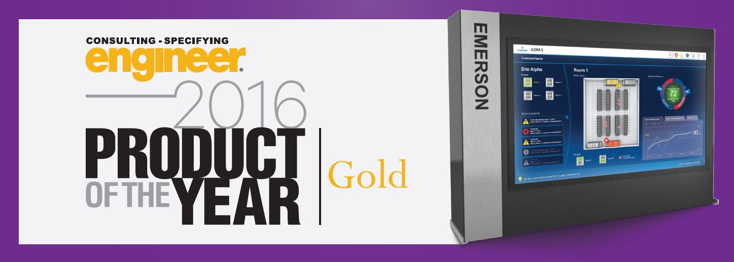 Liebert ICOM-S Wins Gold Product Of The Year Award!