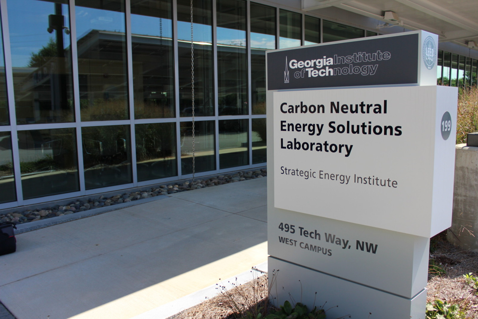 Georgia Tech Carbon Neutral Energy Solutions Laboratory: A Triatek Case Study